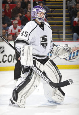 Kings backup goalie Jonathan Bernier would like a chance to play more often.