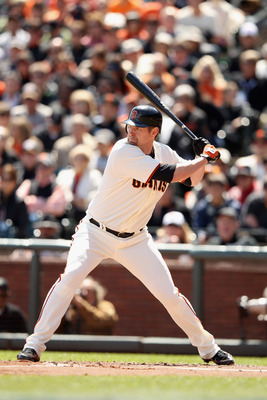 Aubrey Huff was a hero of the 2010 World Series champions