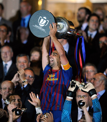 Xavi looking to make it back-to-back Copa champs!