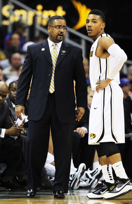 Missouri head coach Frank Haith
