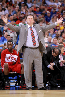 NC State head coach Mark Gottfried