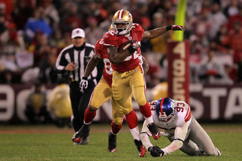 Kendall Hunter should be in line to recieve some of the touches that once all went to Frank Gore.