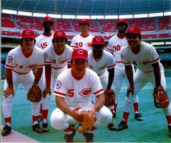 Seven of the eight Big Red Machine starters make the 1976 AS Squad.  Photo Courtesy: Google Images
