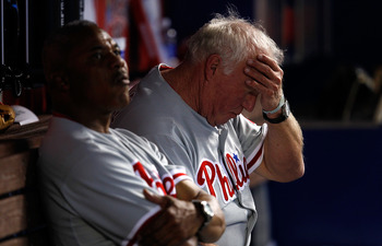 Things haven't been easy for Charlie Manuel's club this season.