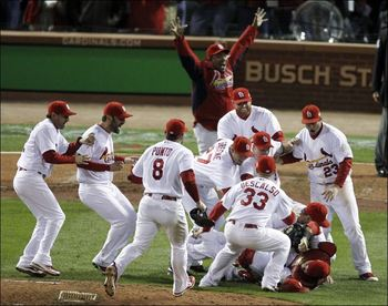 The St. Louis Cardinals loved playing Game 7 of the World Series at Busch Stadium, but that doesn't mean the game should have been played there.