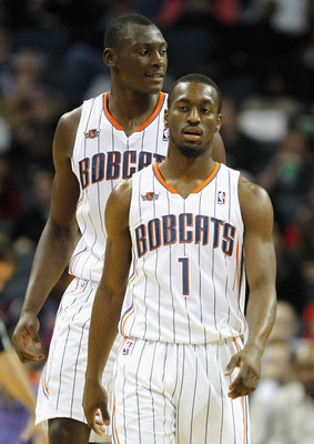 Kemba Walker and Bismack Biyombo are two of the Bobcats' starters who will be playing in the Summer League.