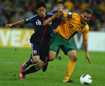 Shinji Kagawa was one of the surprising omissions from Team Japan.