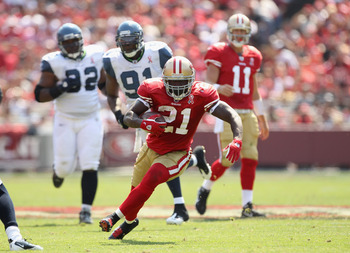 Frank Gore has a big day against Seattle
