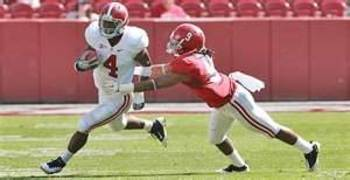 Yeldon gaining significant time this fall will help him eventually take over for Lacy as the Tide's lead back.