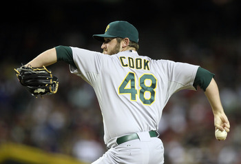 No one expected 25-year-old reliever Ryan Cook to be the A's All-Star representative in 2012.
