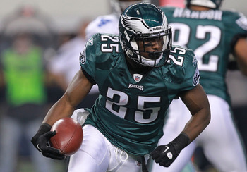 LeSean McCoy will have another Pro Bowl season in 2012.