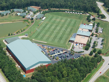 The Falcons boast one of the nicest facilities around. Courtesy SportsTurf.net