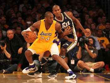 Raja Bell has always given Kobe Bryant fits when they play; he could end up with L.A. or Miami next season.