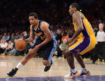 Andre Miller is still one of the best at dribble penetration; he gave the Lakers all they could handle in this year's playoffs.