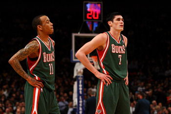 Monte Ellis and Ersan Ilyasova