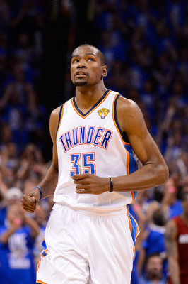 Is it possible that Kevin Durant could play elsewhere in the future?