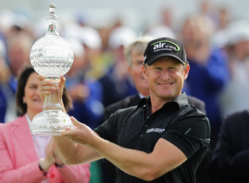 Jamie Donaldson won the 2012 Irish Open