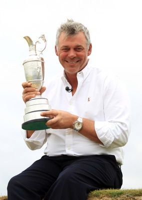 Darren Clarke is the defending champion for the 2012 Open Championship