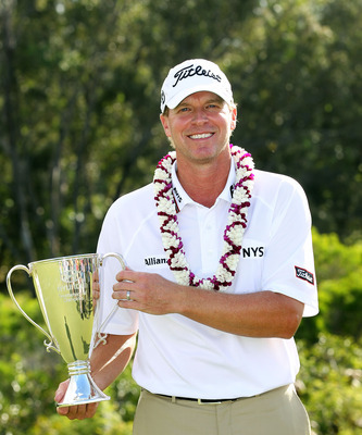 Steve Stricker won the 2012 Hyundai Tournament of Champions