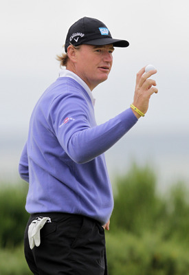 Ernie Els did not get into the field at the 2012 Masters