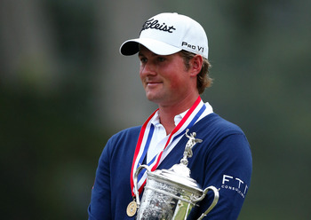 Webb Simpson won the 2012 U. S. Open