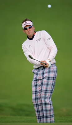 Ian Poulter is always dressed to impress.