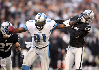 DVD gets another shot at Megatron during the preseason.