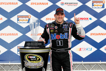 Tony Stewart won last time the Sprint Cup Series was in New Hampshire