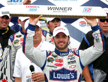 Jimmie Johnson won this event two years ago