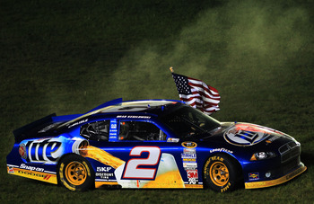 Brad Keselowski is a three-time winner in 2012