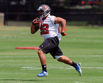 Doug Martin should get a steady diet of carries this year.