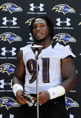 Courtney Upshaw has big shoes to fill in 2012.