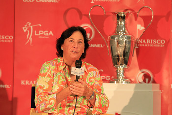 LPGA legend Amy Alcott (above) interviewed Blalock in her revealing 2009 book.
