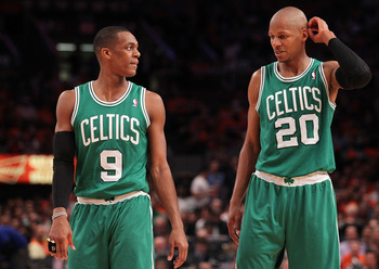 If there really was tension between Rondo and Allen, the Celtics will be better off with Ray out of the picture.