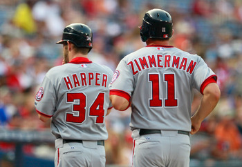 Bryce Harper provided the Washington offense with a spark while Ryan Zimmerman slowly rounded into form at the plate.