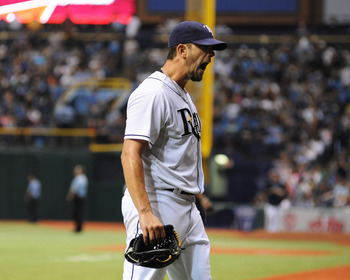 James Shields was supposed to repeat his Cy Young-caliber 2011 this year. Instead, he's just had a lot to yell about.