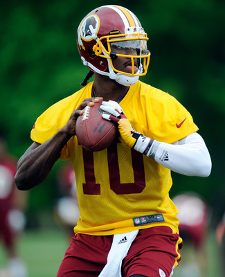 Robert Griffin will shine for the Redskins in 2012