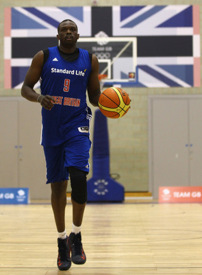 Luol Deng, Great Britain's lone star.