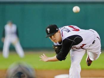 Justin Nicolino could be part of a package for Garza. Photo courtesy of jaysjournal.com.