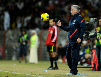 Ancelotti will have a number of options on formation and squad choices.