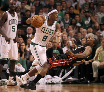 Rondo knocked a few people down en route to the No. 1 PG spot