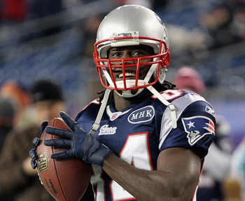 Deion Branch is one of many players facing stiff competition.