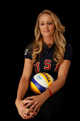 DALLAS, TX - MAY 15:  Beach volleyball player, Jen Kessy, poses for a portrait during the 2012 Team USA Media Summit on May 15, 2012 in Dallas, Texas.  (Photo by Ronald Martinez/Getty Images)