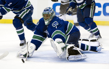 Roberto Luongo, currently of the Vancouver Canucks
