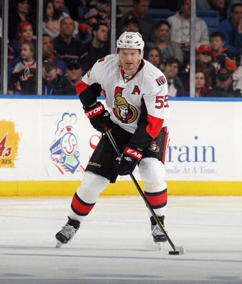 Sergei Gonchar, currently of the Ottawa Senators