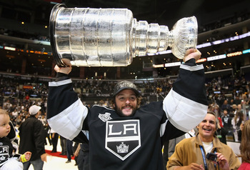Jonathan Bernier, currently of the Los Angeles Kings