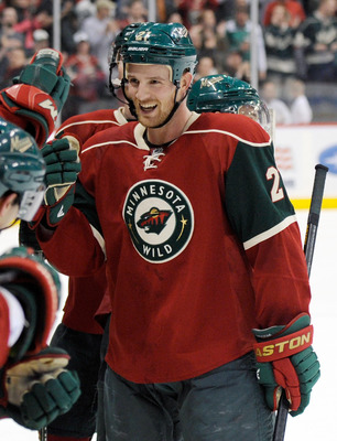 Kyle Brodziak, currently of the Minnesota Wild
