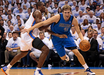 Dirk keeps them viable, but the Mavericks lack true athletes.