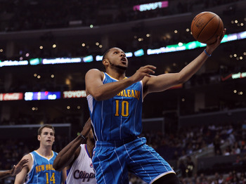 Eric Gordon has some new weapons in Anthony Davis and Austin Rivers.