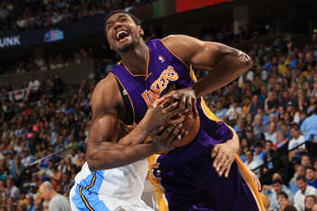 Bynum is one of the most athletic centers in the NBA. Now he has Nash at point.